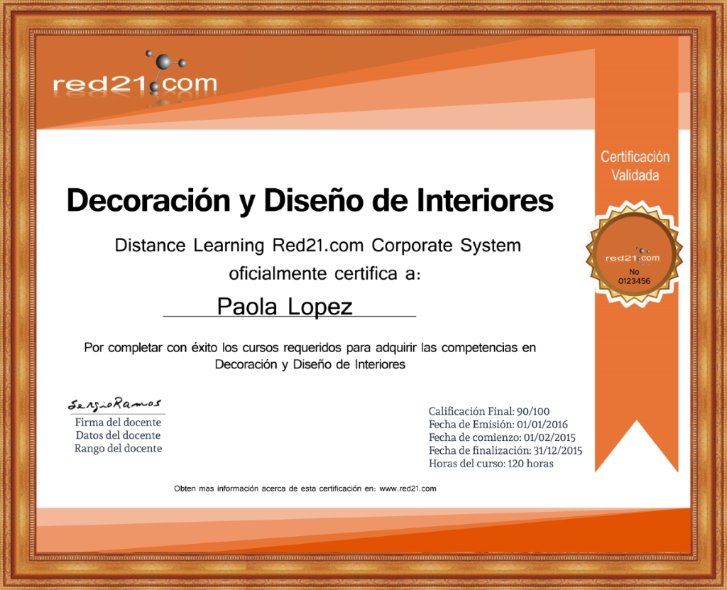 Curso online de decoraci n comienzo inmediato for Curso decoracion de interiores online